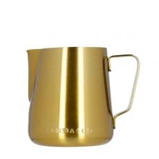 Ąsotis pienui Barista & Co, auksinis 420ml