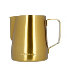 Ąsotis pienui Barista & Co, auksinis 600ml