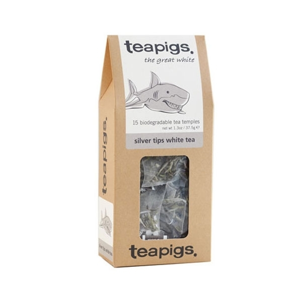 Baltoji arbata teapigs Silver tips, 15vnt.