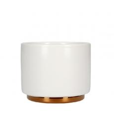 Cappuccino kavos puodelis Fellow, baltas 190ml
