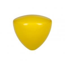 Comandante kavamalės rankenos antgalis, geltonas