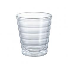 Dvisienė stiklinė Hario V60, 280ml