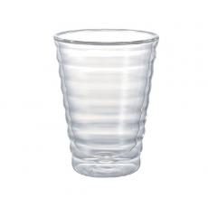 Dvisienė stiklinė Hario V60, 450ml