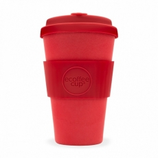 ECOFFEE Cup puodelis, Red Dawn 400ml