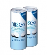 Filtravimo diskas senoms gertuvėms BRITA Fill&Go (16 vnt.)