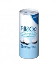 Filtravimo diskas senoms gertuvėms BRITA Fill&Go (8 vnt.)