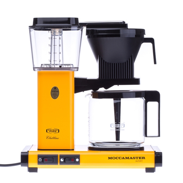 Filtrinė kavavirė Moccamaster KBG 741 AO, geltona