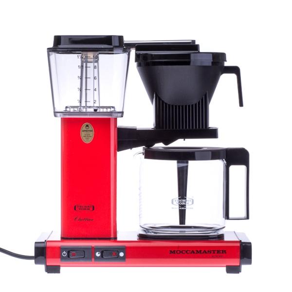 Filtrinė kavavirė Moccamaster KBG 741 AO, raudona