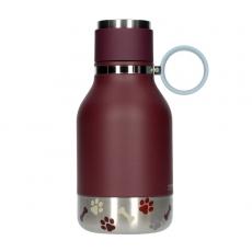 Gertuvė Asobu Dog Bowl Bottle, Purple