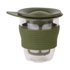 Hario arbatos puodelis su filtru, 200ml