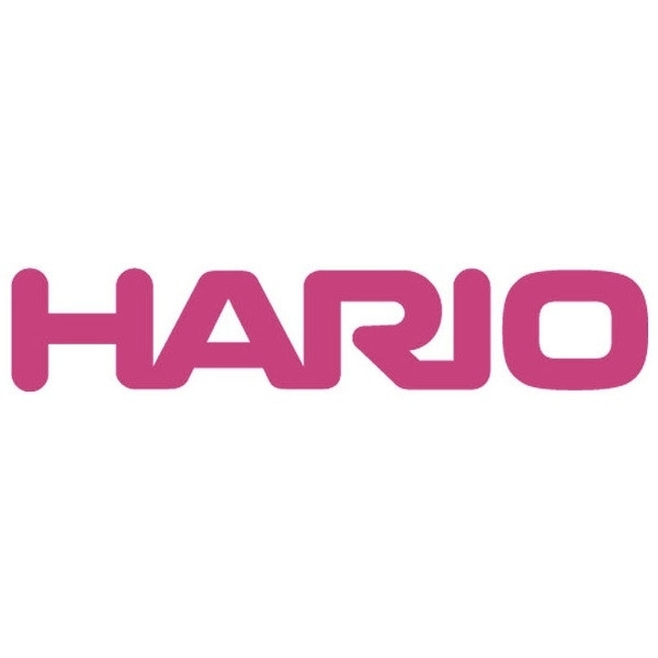 Hario stiklinis V60-02 komplektas, 600ml raudonas
