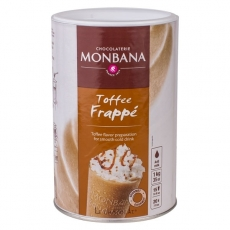 Karamelės skonio Frappe mišinys Monbana, 1000g