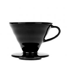 Kavinukas Hario V60-02 Tetsu-Kasuya, juodas