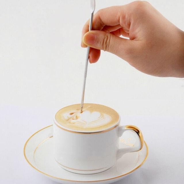 Kavos formavimo įrankis Latte Art Motta