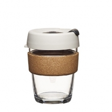 Kavos puodelis KeepCup Cork Filter stiklinis, 340ml