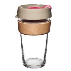 Kavos puodelis KeepCup Cork Redbud, 454ml