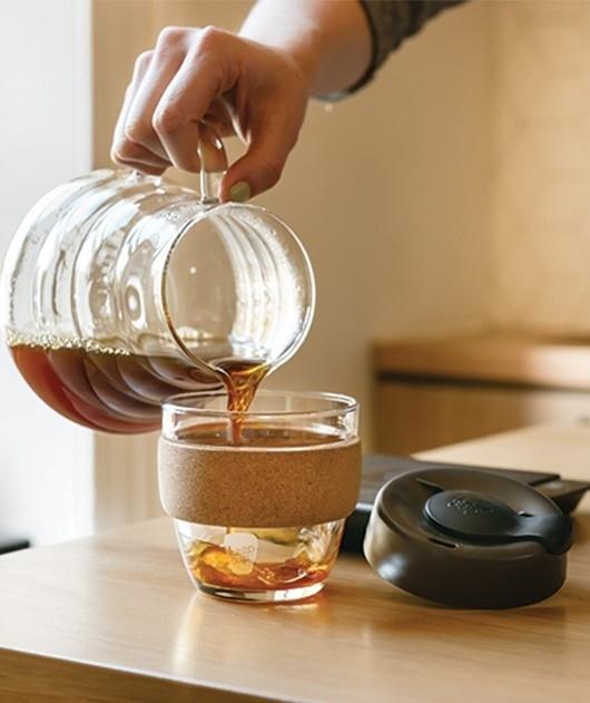 Kavos puodelis KeepCup Cork Thermal stiklinis,  227ml
