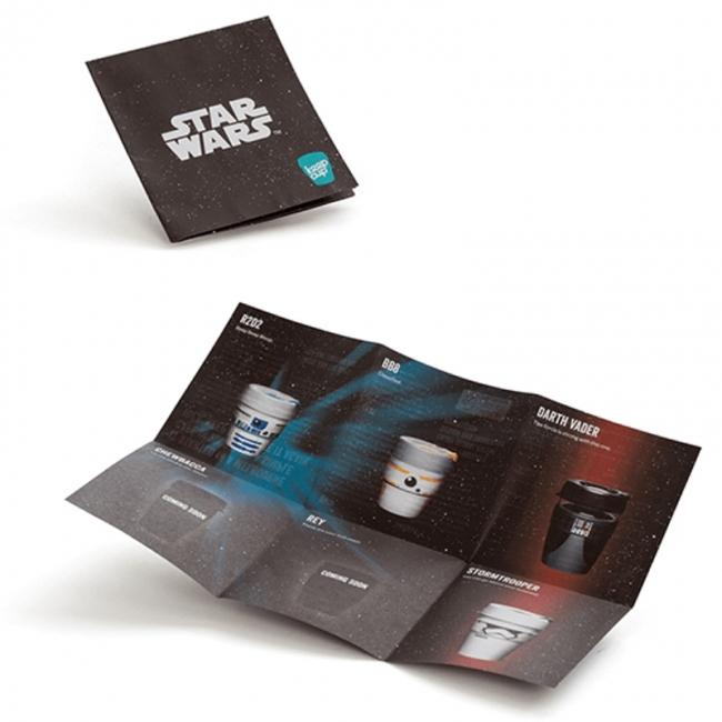 Kavos puodelis KeepCup Darth Vader stiklinis, 340 ml