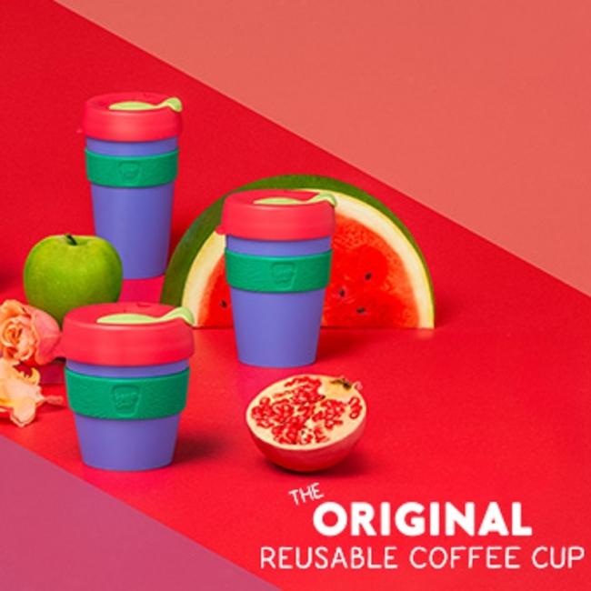 Kavos puodelis KeepCup Forest plastikinis, 454ml