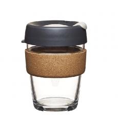 Kavos puodelis KeepCup Press stiklinis, 340ml