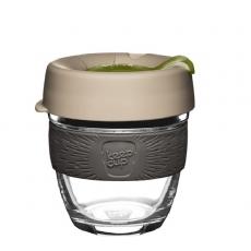 Kavos puodelis KeepCup Silverleaf stiklinis, 227ml