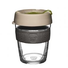 Kavos puodelis KeepCup Silverleaf stiklinis, 340ml