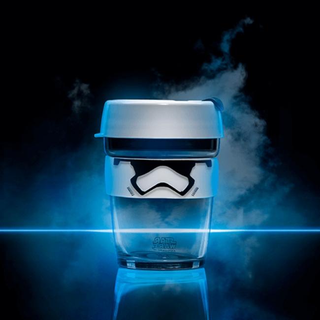 Kavos puodelis KeepCup Stormtrooper stiklinis, 340 ml