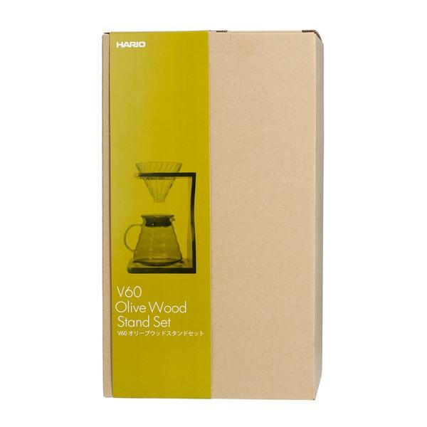 Kavos ruošimo komplektas Hario Olive V60-02