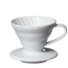Keramikinis kavinukas Hario V60-01, baltas