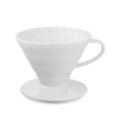 Keramikinis kavinukas Hario V60-02, baltas
