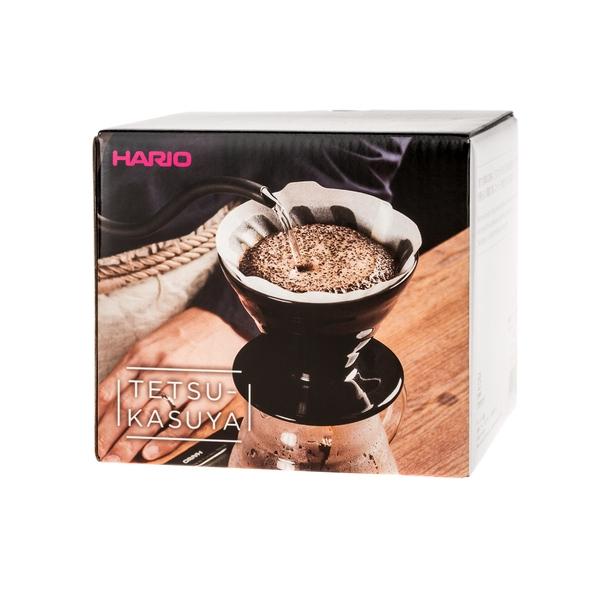 Keraminis kavinukas Hario V60-02, juodas