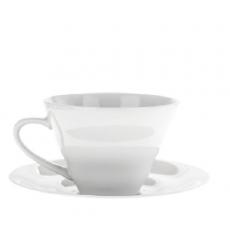 Keraminis puodelis su lėkštute Hario, 150ml