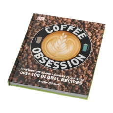 Knyga apie kavą Coffee Obsession