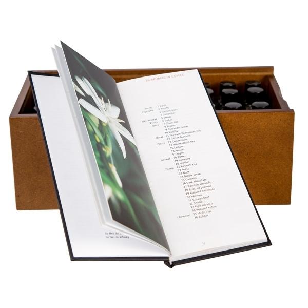 Knyga Le Nez Du Cafe + 36 kvapų komplektas