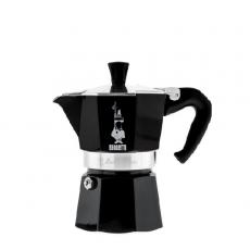 Moka kavinukas Bialetti Express juodas, 150ml 3p.