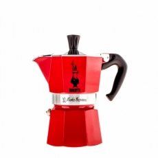 Moka kavinukas Bialetti Express Red, 150ml 3p.