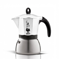 Moka kavinukas Bialetti Induction baltas, 300ml 6p.