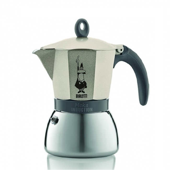 Moka kavinukas Bialetti Induction gold, 300ml 6p.