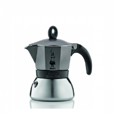 Moka kavinukas Bialetti Induction, grafito 150ml 3p.