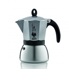 Moka kavinukas Bialetti Induction, grafito 300ml 6p.