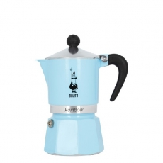 Moka kavinukas Bialetti Rainbow Blue, 150ml 3p.