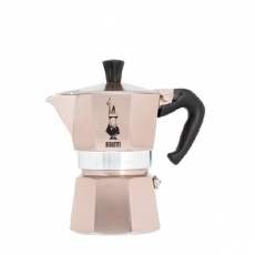 Moka kavinukas Bialetti, Rose Gold 150ml 3p.