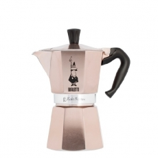 Moka kavinukas Bialetti, Rose Gold 300ml 6p.
