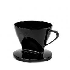 Plastikinis filtrinis kavinukas Melitta 1x2, juodas