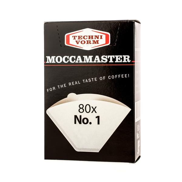 Popieriniai filtrai kavavirei Moccamaster, NR.1 80vnt.