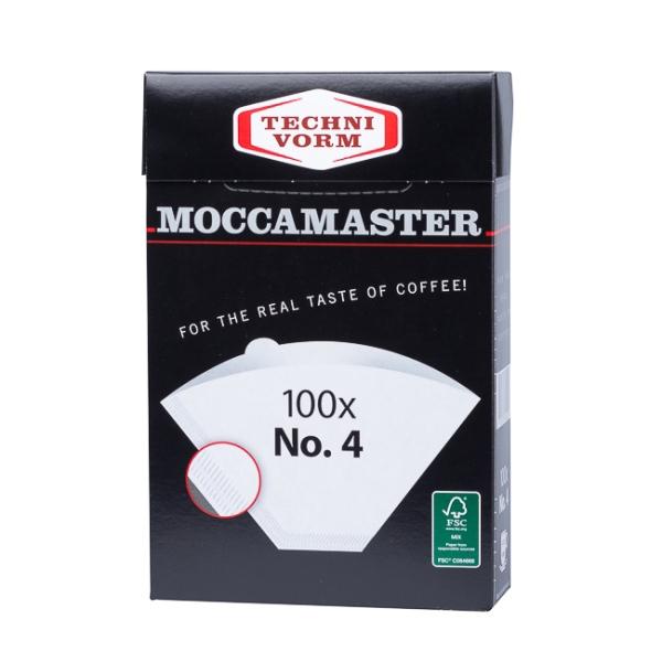 Popieriniai filtrai kavavirei Moccamaster, NR.4 100vnt.
