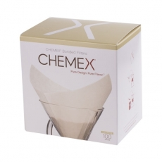 Popieriniai filtrai kavinukui Chemex Square, 100vnt.