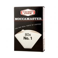 Popieriniai filtrai Moccamaster, NR.1 80vnt.