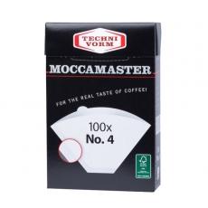 Popieriniai filtrai Moccamaster, NR.4 100vnt.