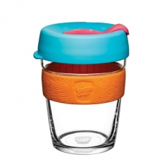 Puodelis KeepCup Cloudburst stiklinis, 340ml